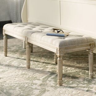 Cushioned & Tufted Benches You\'ll Love | Wayfair