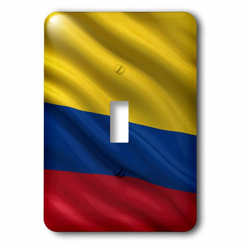 3drose Colombia Flag 1 Gang Toggle Light Switch Wall Plate Wayfair