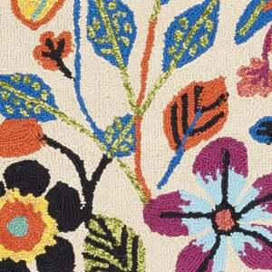 Hayes Flowers Outdoor Area Rug