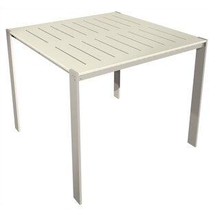 Luma Aluminum Bar Table