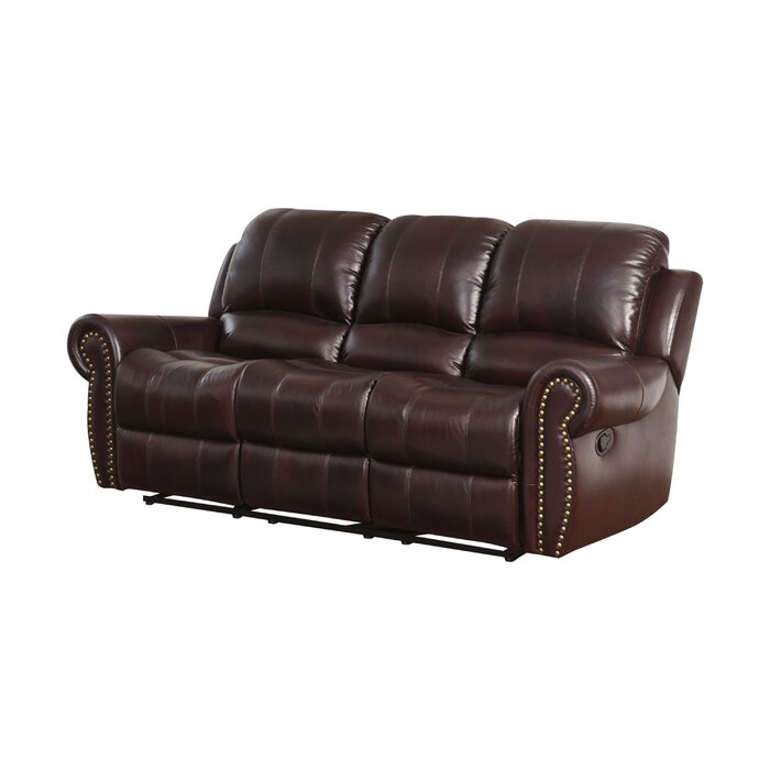Excellent Barnsdale Leather Reclining Sofa Gmtry Best Dining Table And Chair Ideas Images Gmtryco