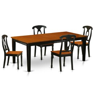 Pilger Modern 5 Piece Dining Set August Grove