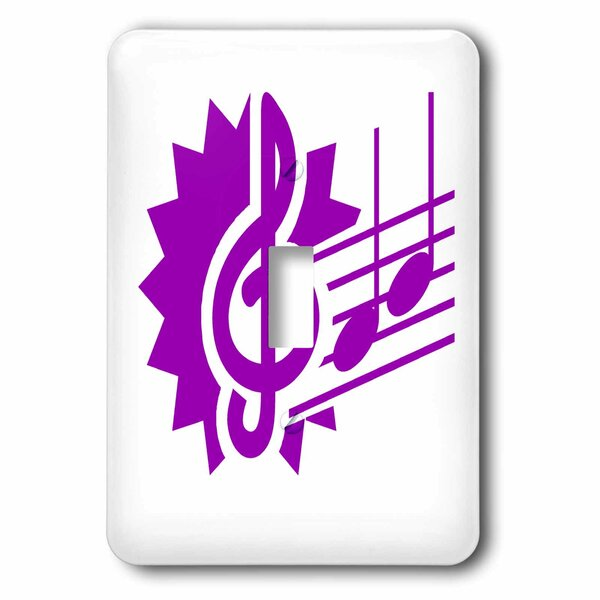 3drose Clef Eighth Notes 1 Gang Toggle Light Switch Wall Plate Wayfair