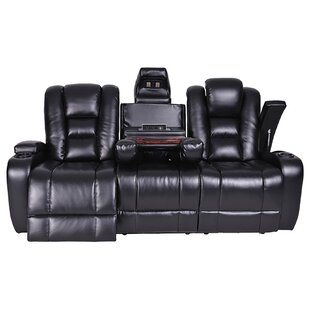 Lococo Reclining Sofa Red Barrel Studio