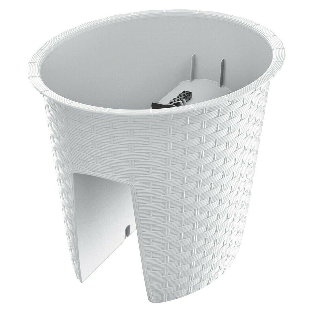 Elburn Plastic Balcony Planter