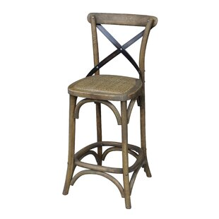 """X"" Design 24.5"" Bar Stool (Set of 2) by"