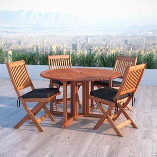Folse 5 Piece Dining Set b..