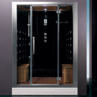 Platinum 59 X 87 4 Rectangle Hinged Steam Shower With Base Included
