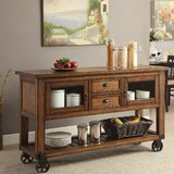 Lymingt Kitchen Cart by Williston Forge