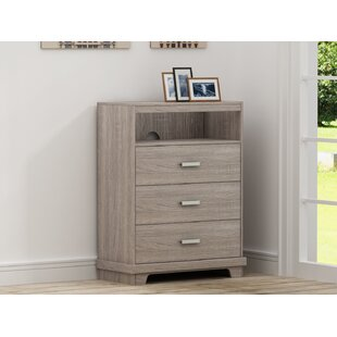 Trule Teen Avalos 3 Drawer Chest