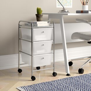 Utility Cart With 3 Drawers By Symple Stuff