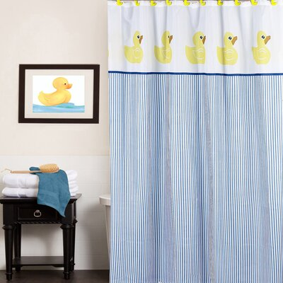 Classic Rubber Ducky Water Resistant Shower Curtain