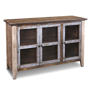 Kinsley Curio 3 Doors Accent Cabinet by Millwood Pines