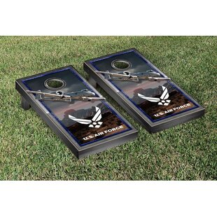 Victory Tailgate NCAA US Air Force A10 Warthog Version Cornhole Game Set