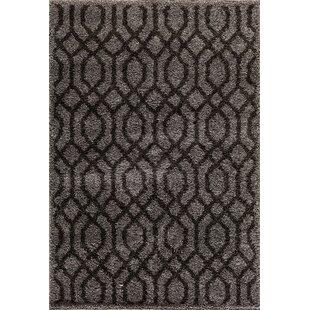 Check Prices Hamilton Silver/Black Area Rug By Threadbind