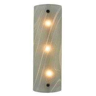 Compare Metro Fusion Blanco Swirl 3-Light Bath Bar By Meyda Tiffany
