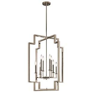 Goffe 8-Light Geometric Chandelier by Mercer41