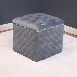 Westbrooks Cube Ottoman by..
