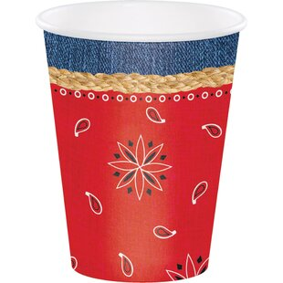 Bandanarama Paper Disposable Cup (Set of 24)