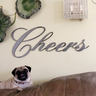 Cheers Wall D?cor by Letter2Word