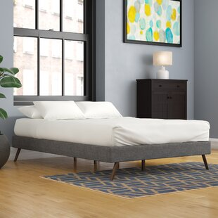 Bowser Upholstered Platform Bed by Trule Teen
