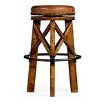 30 Swivel Bar Stool by Jonathan Charles Fine Furniture