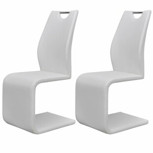 Adamsville Upholstered Dining Chair (Set Of 2) by Orren Ellis Coupon