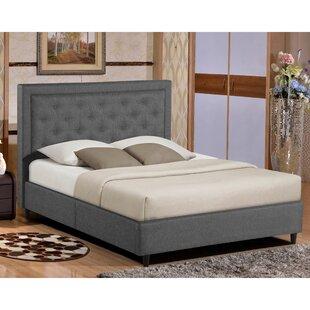 Titan Queen Upholstered Platform Bed by Alcott Hill
