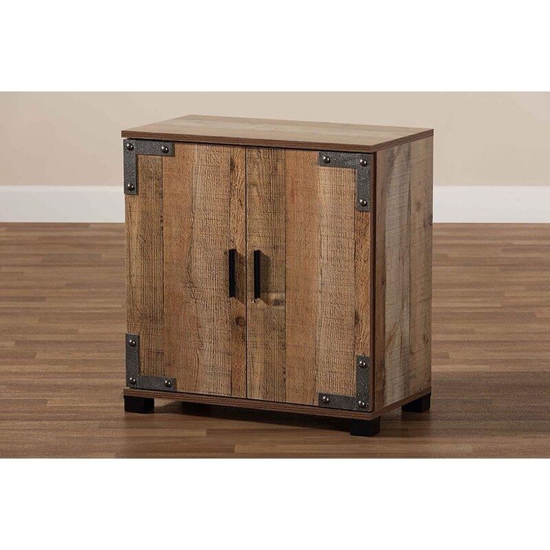 Foundry Select 9 Pair Shoe Storage Cabinet Wayfair