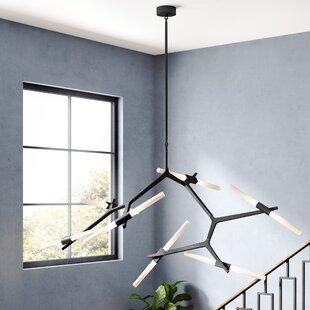 Bedgood LED Sputnik Chandelier by Orren Ellis
