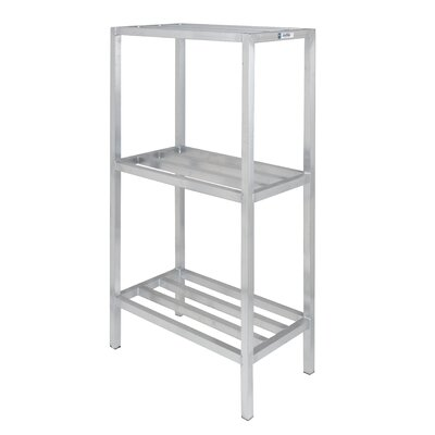 Tubular Dunnage 64 H Three Shelf Shelving Unit Channel Manufacturing