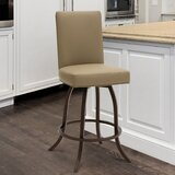 Ridley Bar & Counter Swivel Stool by Gracie Oaks
