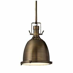 Union Rustic Llanes 1-Light Bell Pendant