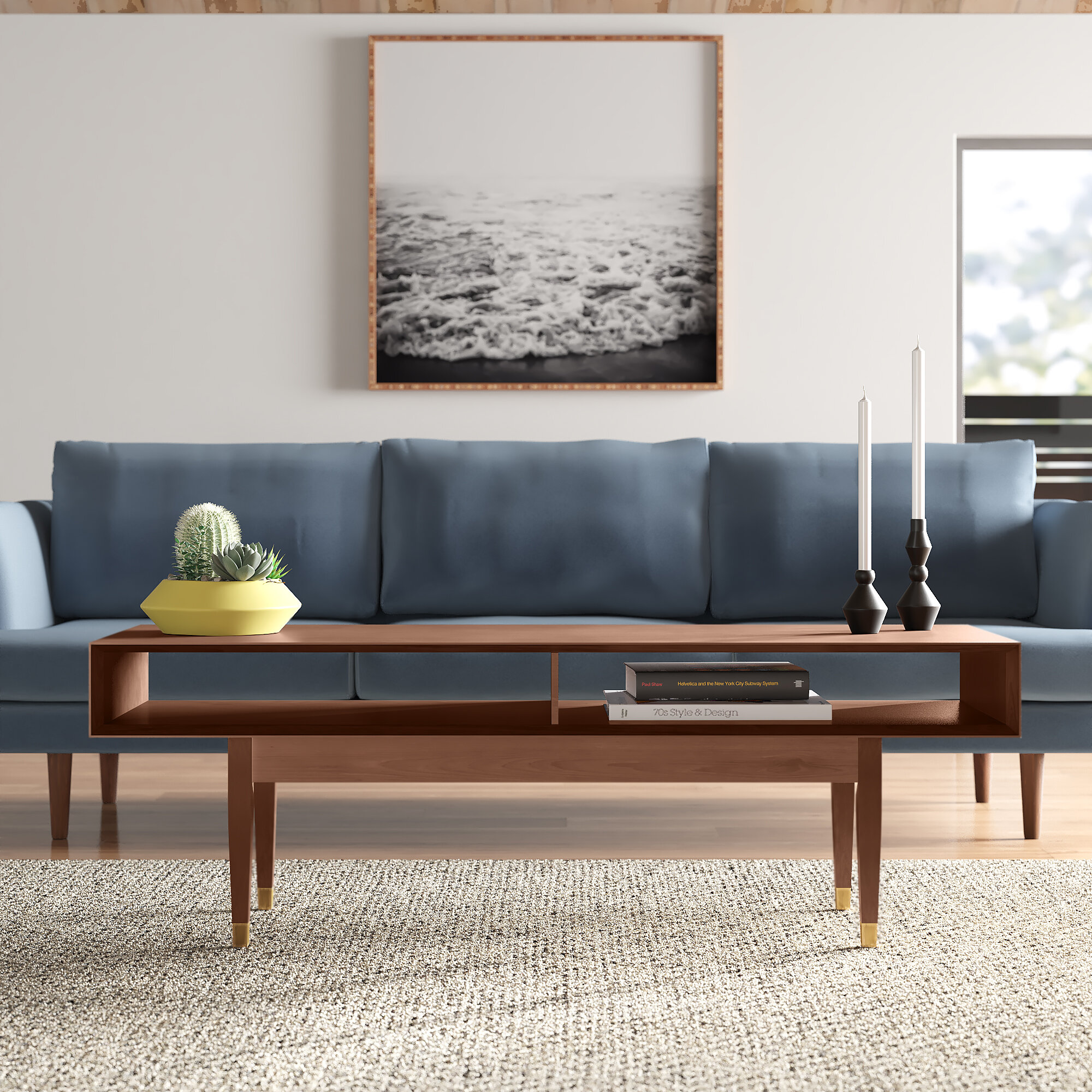 West Hill Coffee Table With Storage Reviews Allmodern