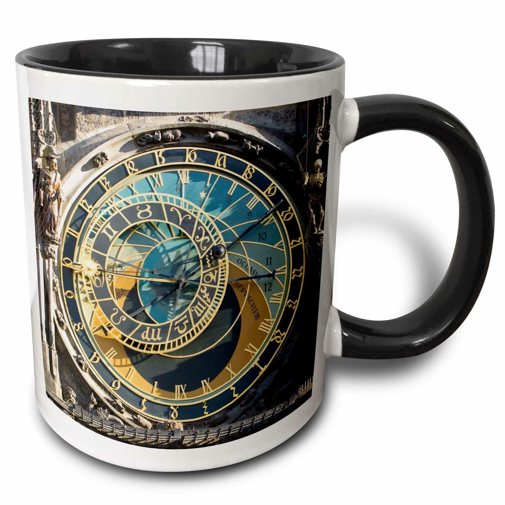 East Urban Home Astronomical Clock Orloj Prague Czech Republic Coffee Mug Wayfair