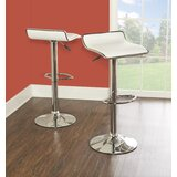 Renea Adjustable Height Swivel Bar Stool (Set of 2) by Ebern Designs