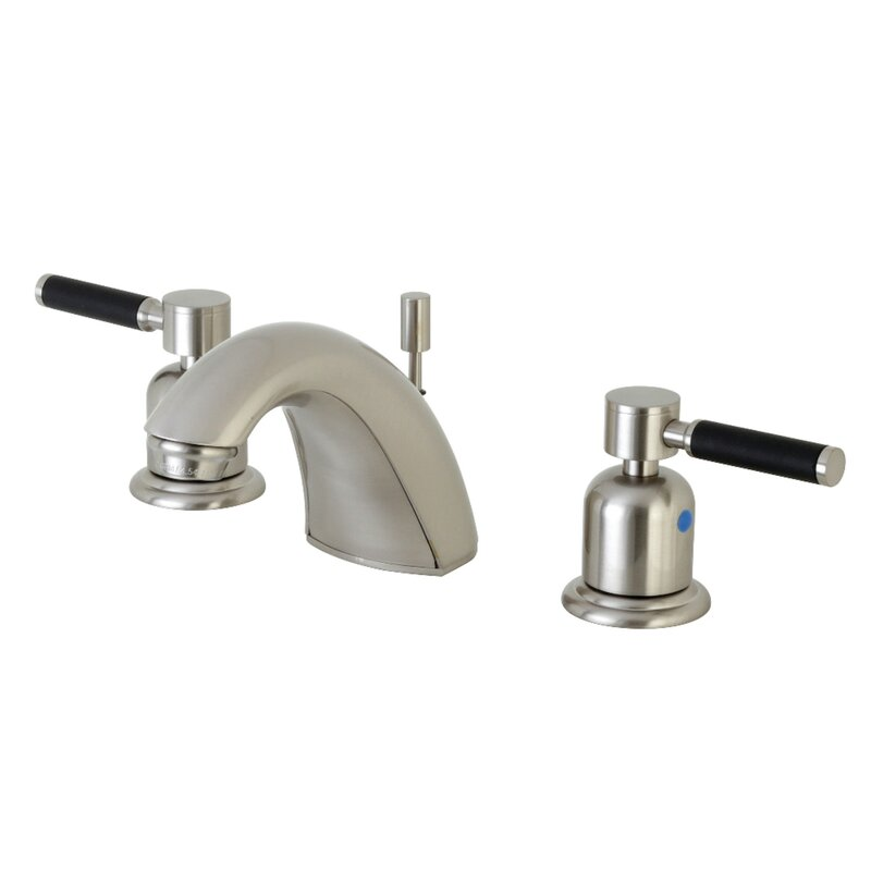 Kingston Brass Kaiser Widespread Faucet Bathroom Faucet With Drain Assembly Wayfair