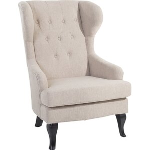 Aleshia Wingback Chair by ..