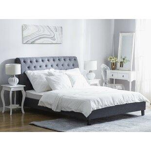 Super King Upholstered Platform Bed By Ophelia & Co.
