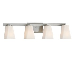 Read Reviews Cornerstone 4-Light Vanity Light By Designers Fountain