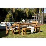 Maness 6 Piece Dining Set with Cushions