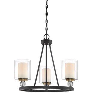 Studio 5 3-Light Candle-Style Chandelier