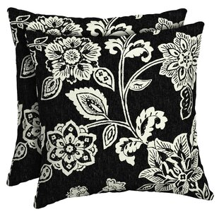 Dorrance Outdoor Throw Pillow (Set of 2)