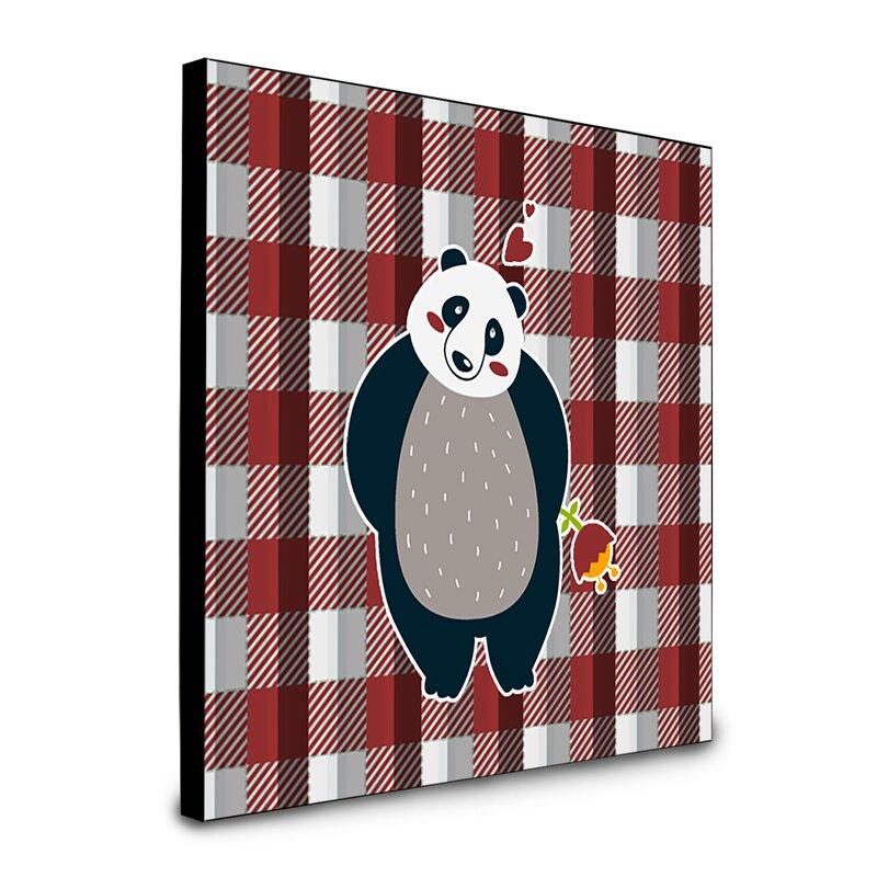 Harriet Bee Eloanna Panda Artwork Wall Panel Wayfair