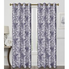 Paisley Purple Curtains Drapes You Ll Love In 2021 Wayfair