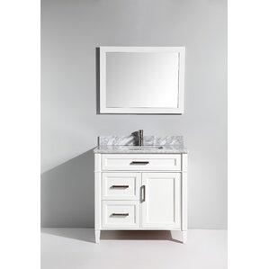 Bathroom Vanity With Drawers 3 drawer bathroom vanities you'll love | wayfair