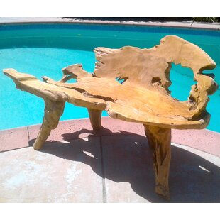 Bayou Breeze Aries Teak Garden Bench