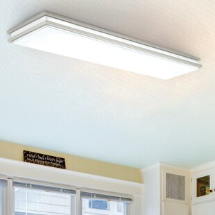 Flush Mount Fluorescent Lights Wayfair