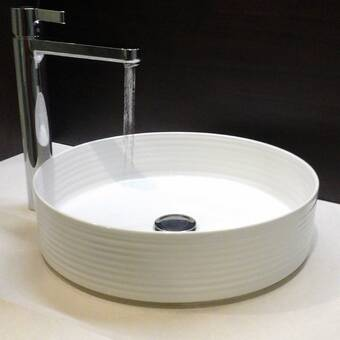 Nantucket Sinks Regatta Circular Vessel Bathroom Sink Perigold