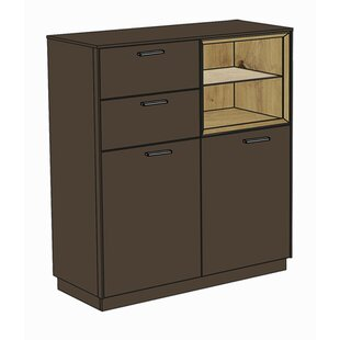 Review Haygood 2 Drawer Combi Chest